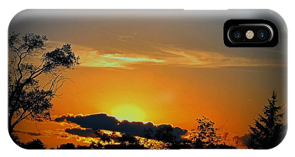 Wisconsin Sunset IPhone Case