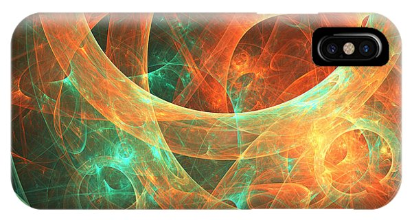 Abstract Digital iPhone Case - Within by Lourry Legarde