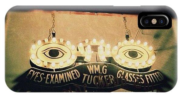 Light iPhone Case - Wm.g Tucker Glasses by Natasha Marco