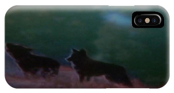 Wolves Passage Phone Case by Debra     Vatalaro
