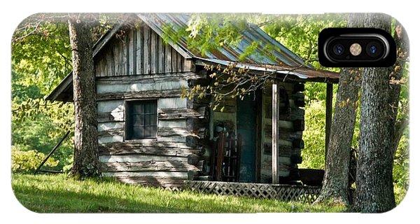 Crossville iPhone X Case - Woodland Cabin 2 by Douglas Barnett