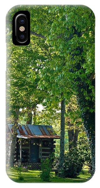 Crossville iPhone X Case - Woodland Cabin 5 by Douglas Barnett