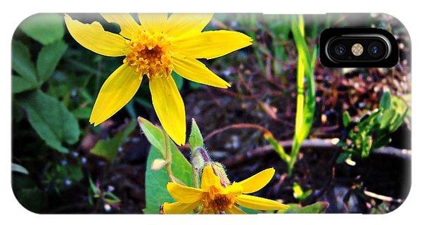 Woods Flower IPhone Case