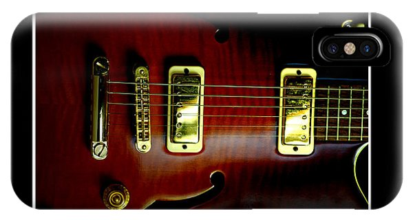 Yamaha Hollowbody 4 IPhone Case