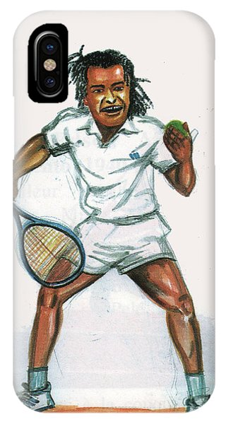 Yannick Noah IPhone Case