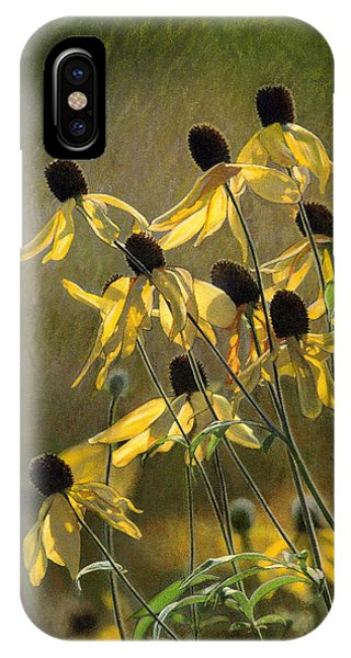 Yellow Coneflowers IPhone Case