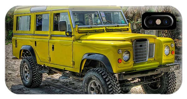 Yellow Jeep IPhone Case