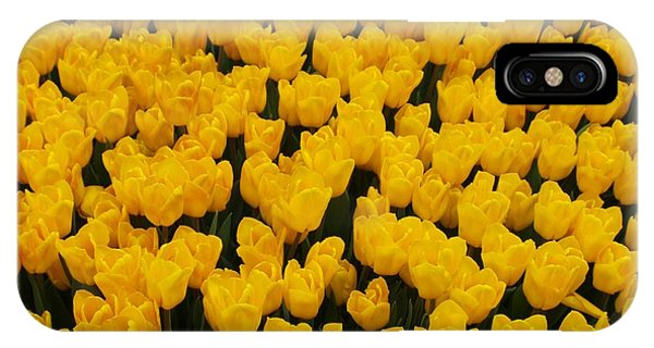 Yellow Tulips Phone Case by Larry Krussel