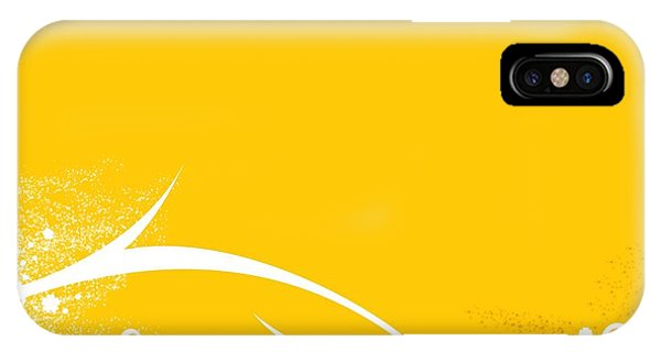 Yellow Twigs IPhone Case