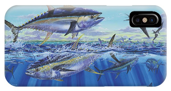 Skipjack iPhone Case - Yellowfin Bust by Carey Chen