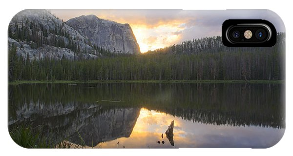 Yellowjacket Lake IPhone Case