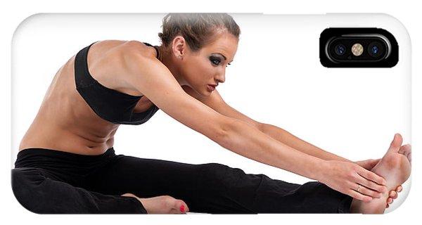 Yoga Head To Knee IPhone Case