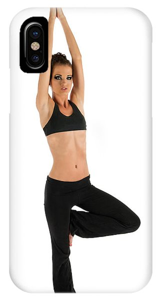 Yoga Pose Tree IPhone Case
