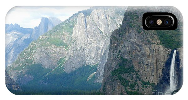 Yosemite Bridalveil Fall IPhone Case