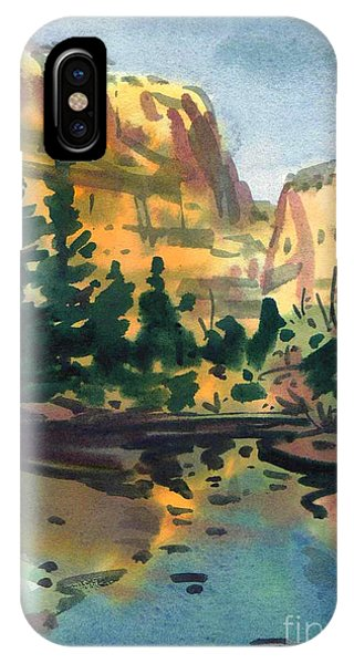 Yosemite Valley In January IPhone Case