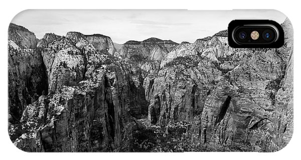 Zion National Park - View From Angels Landing IPhone Case