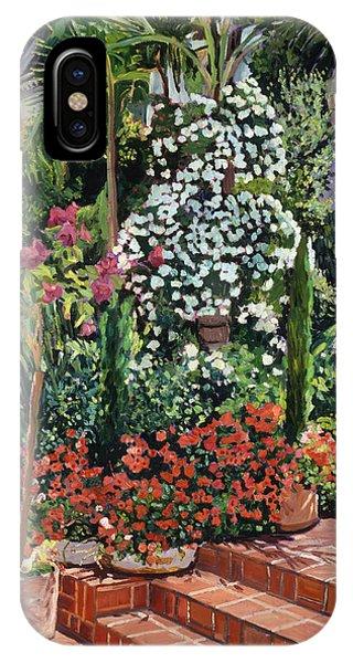 A Garden Approach IPhone Case