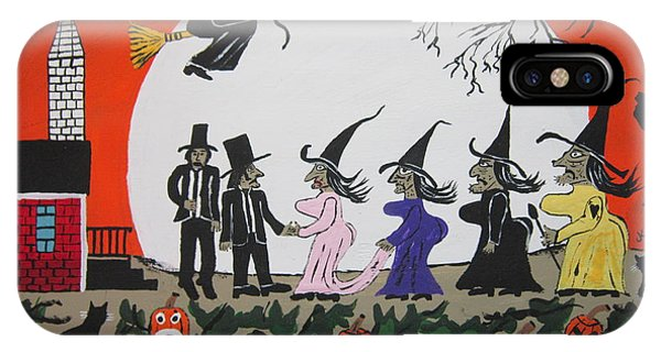 A Halloween Wedding IPhone Case