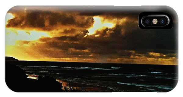 A Stormy Sunrise IPhone Case