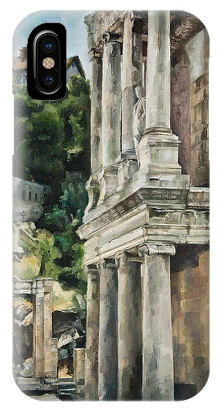 Ancient Amphitheater IPhone Case