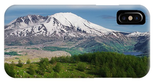 Castle Lake And Mt. St. Helens IPhone Case