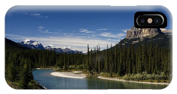 Castle Mountain 1 IPhone Case