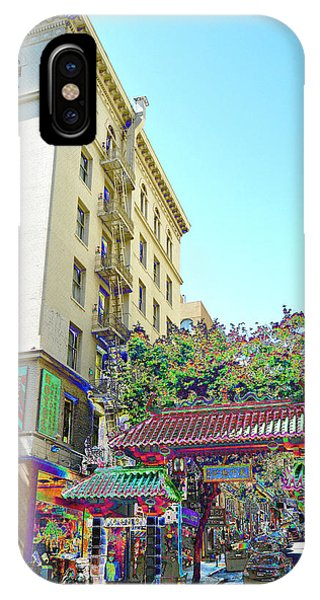 China Town Fantasy IPhone Case