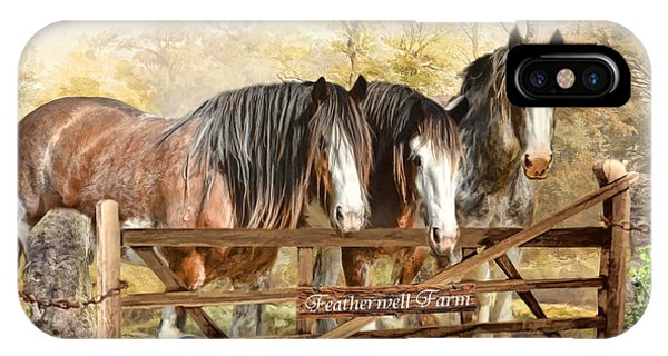 Featherwell Farm IPhone Case