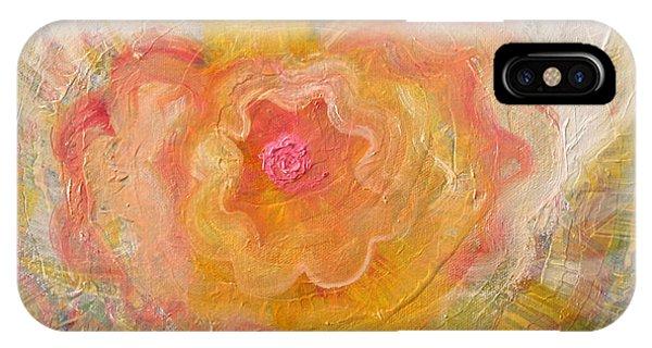 Flower Angel IPhone Case