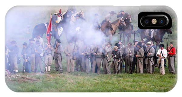 Gettysburg Confederate Infantry 7503c IPhone Case