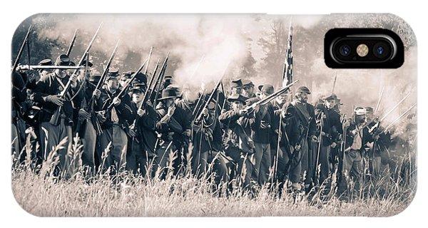 Gettysburg Union Infantry 9360s IPhone Case
