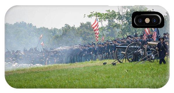 Gettysburg Union Infantry 9968c IPhone Case