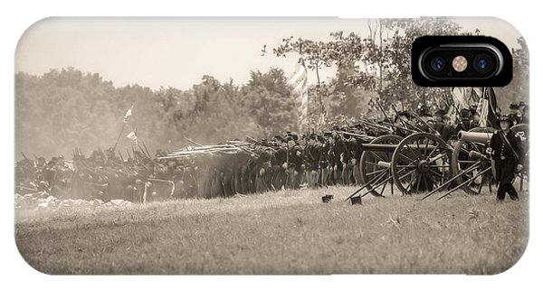 Gettysburg Union Infantry 9968s IPhone Case