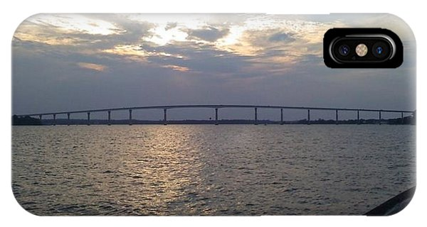Gov Thomas Johnson Bridge IPhone Case