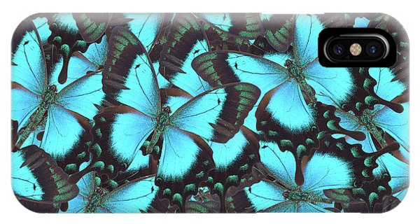 Green Swallowtail Butterfly IPhone Case