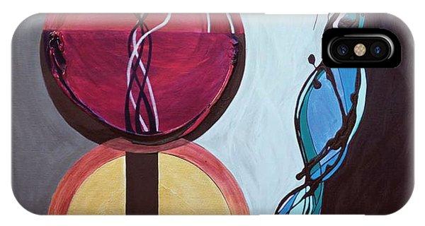 Tropes iPhone Case -  Havdallah...separation by Marlene Burns