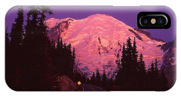 Highway To Sunrise IPhone Case