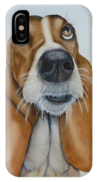 Hound Dog's Pleeease IPhone Case