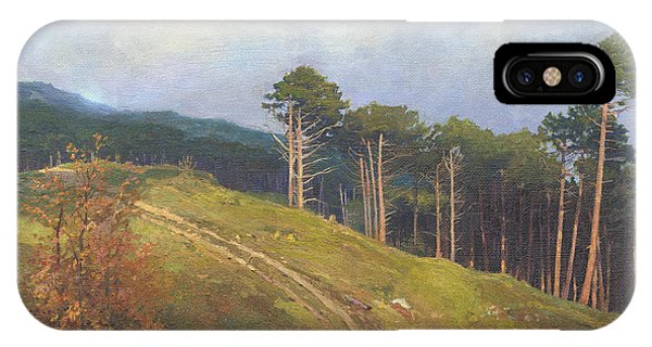 iPhone Case -  In The Crimean Mountains   by Denis Chernov