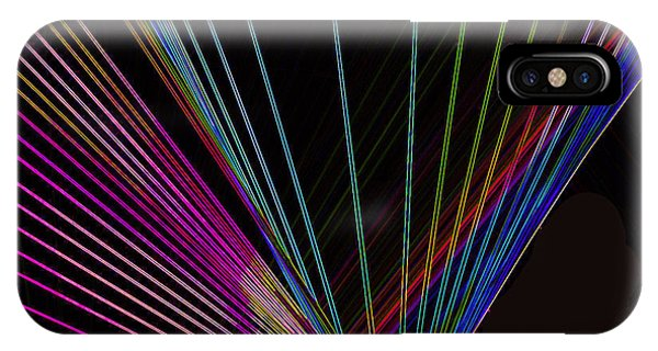 Light Speed iPhone Case -  Laser Abstract by Art Spectrum