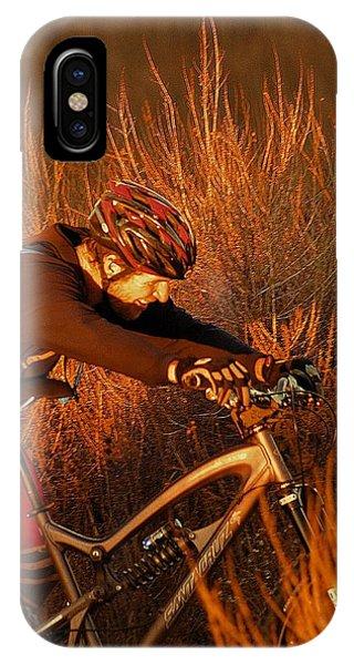 Mountain Bike Phone Case by Viktor Savchenko