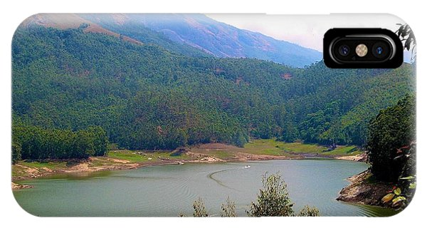 Kerala iPhone Case -  Mountain Lake  by Art Spectrum