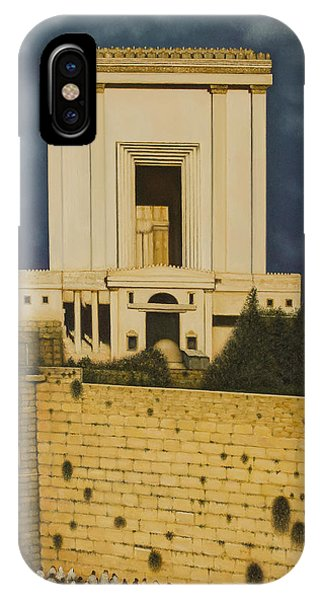 Old Jerusalem. The Third Themple. Phone Case by Eduard Gurevich