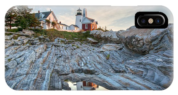 Pemaquid Point Reflection IPhone Case