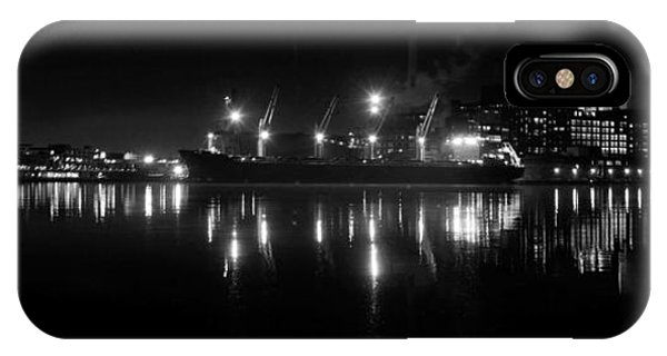 Point Lights Bw IPhone Case