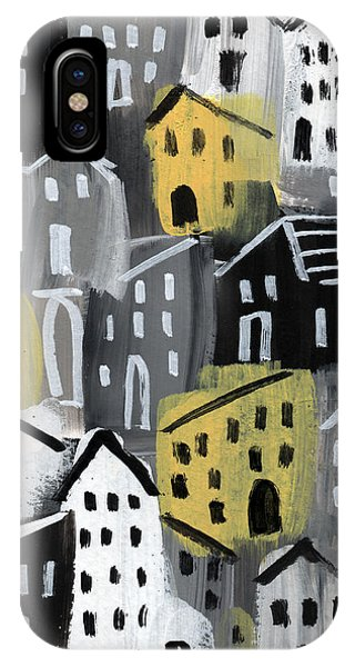 Rainy Day - Expressionist Art IPhone Case