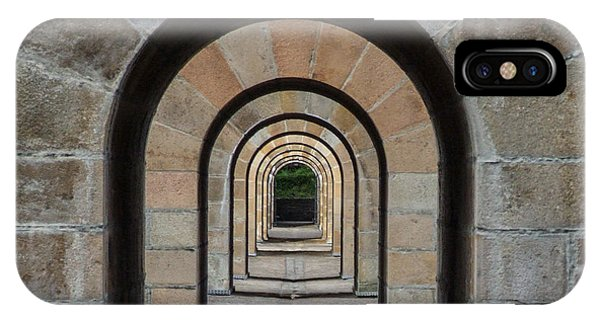 Receding Arches IPhone Case