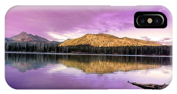 Reflections On Sparks Lake IPhone Case