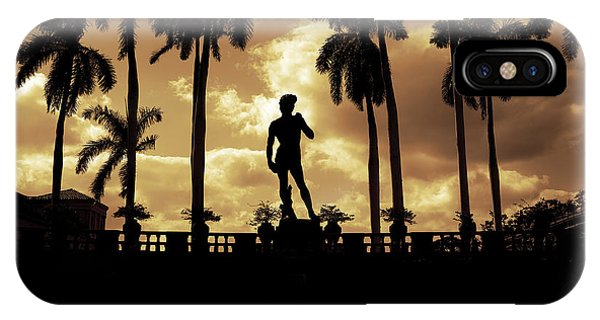 Replica Of The Michelangelo Statue At Ringling Museum Sarasota Florida IPhone Case