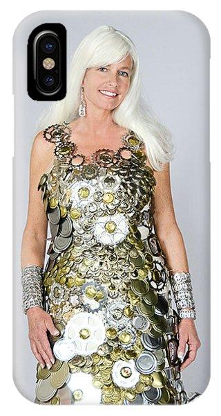 Sara In Clockwork Dragon Dress  IPhone Case